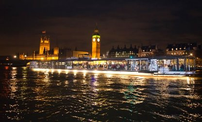 The Bateaux London Dinner Cruise
