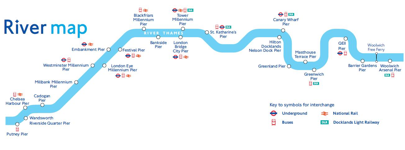 River Thames Map River Thames Transport Map River Thames Map