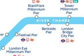 River Thames Transport Map